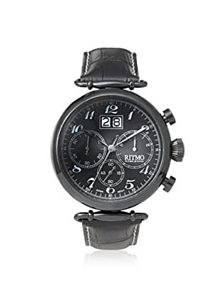 Ritmo Mundo Men's 701/6 Black Corinthian Stainless Steel Watch