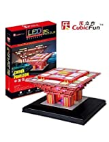 3D Puzzle with LED - Chinese Pavillion