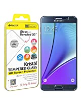 AMZER Kristal Tempered Glass HD Screen Protector for Samsung Galaxy Note 5 - Retail Packaging - HD Clear