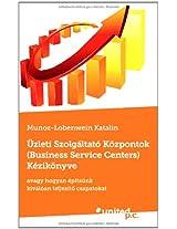 Uzleti Szolgaltato Kozpontok (Business Service Centers) Kezikonyve