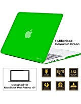 AirPlus-Retina 13-inch Neon Series satin finish Hard Case Shell Cover for Apple MacBook Pro 13.3 with Retina Display [Screamin' Green]