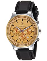 Optima Analog Gold Dial Men's Watch - OFT-2434 T.T