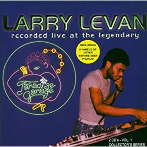 Larry Levan Live At The Paradise Garage