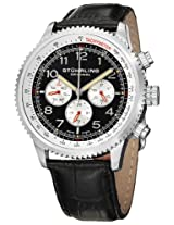Stuhrling Original Octane Analog Black Dial Men's Watch - 858L.01