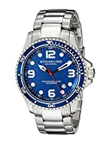 Stuhrling Original Aquadiver Analog Blue Dial Men's Watch - 593.332U16