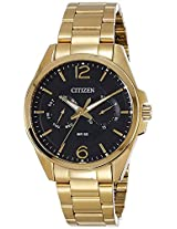 Citizen Analog Black Dial Men's Watch - AG8322-50E