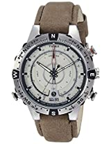 Timex Intelligent Quartz Compass Chronograph Off-White Dial Men's Watch - T2N721
