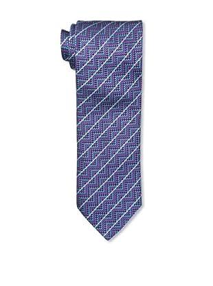 Missoni Men's Diagonal Dots Tie, Blue/Pink