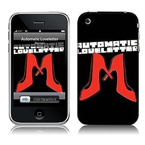 【クリックで詳細表示】Music Skins iPhone 3G/3GS用フィルム Automatic Loveletter - Stiletto iPhone 3G/3GS MSRKIP3G0028