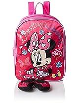 Disney Girls' Minnie Mini Backpack with Plush Feet