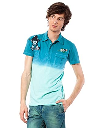 Custo Poloshirt Summer (Blau)