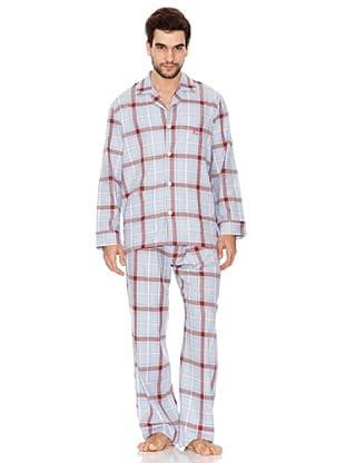 Kiff-Kiff Pijama Largo Tela Hombre (Multicolor)