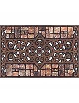 Apache Mills 60-730-1329 Tiretuff Masterpiece Prague Welcome Door Mat, 18 by 30-Inch