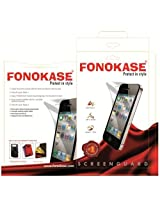 Fonokase Screen Guard for Apple iPhone 5 & 5S 5 S Clear Scratch Proof Protect