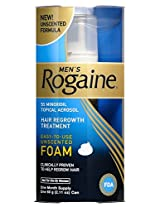 Rogaine for Men Hair Regrowth Treatment Easy-to-UseFoam 2.11 Ounce [Misc.]