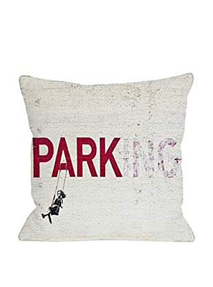 Banksy Parking Pillow