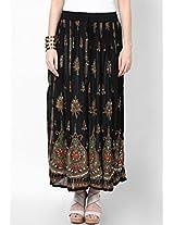 Jaipuri Embroidery Cotton Skirt