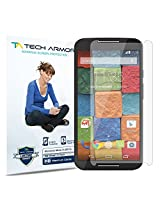 Tech Armor Motorola Moto X (2014) High Defintion (HD) Clear Screen Protectors - Maximum Clarity and Touchscreen Accuracy [3-Pack] Lifetime Warranty