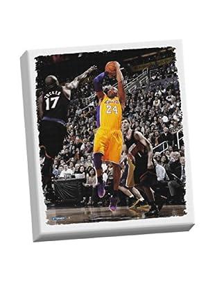 Steiner Sports Memorabilia Kobe Bryant Fade-Away Jump Shot Stretched Canvas