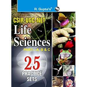 CSIR-UGC NET - Life Sciences - Previous Papers (Solved) and 25 Practice Sets