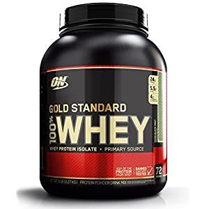 Optimum Nutrition (ON) 100% Whey Gold Standard - 5 lbs (Chocolate Mint)