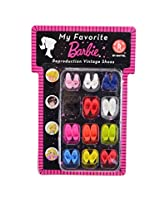 My Favorite Barbie Reproduction Vintage Shoes Collection 12 Pair