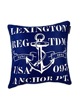 Lexington Company Funda De Cojín Ancla (Azul)