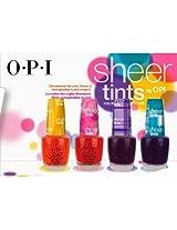 OPI Sheer Tints, Sheer Mini Hint of Tints