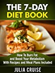 The 7-Day Diet Book: How To Burn Fat and Boost Your Metabolism With Recipes and Meal Plans Included (Weight Loss Recipes)