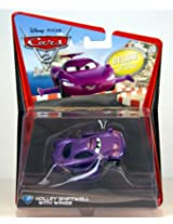 Disney Pixar Cars 2 Holley Shiftwell Deluxe with SPY Wings 155 Scale Mattel