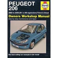 【クリックで詳細表示】Peugeot 206 Petrol and Diesel Service and Repair Manual: 2002 to 2006 (Haynes Service and Repair Manuals) [ハードカバー]