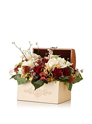 Hydrangea Rose Bouquet Box