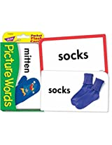 Pocket Flash Cards-Picture Words