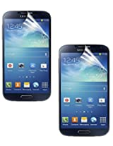 SDO Anti Scratch Screen Protector Guard for Samsung Galaxy S4 i9500 (Pack of 2 Front Screen Guard)