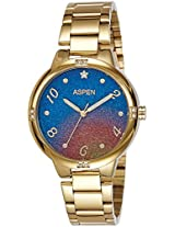 Aspen Analog Multi-Colour Dial Women's Watch - AP1951