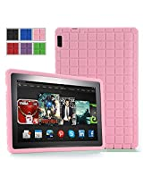 Poetic GraphGrip Case for New Kindle Fire HDX 8.9 inch (2013) Tablet Light Pink (3 Year Manufacturer Warranty From Poetic)