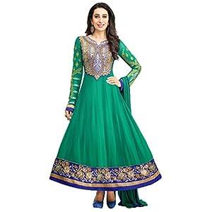 Karishma Kapoor Series Un-Stitched Anarkali Suit By Adaa's