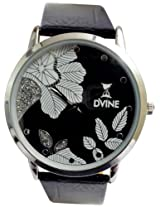DVINE Black Dial Unisex Watch DD3033 BK01