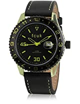 Fc1094Nnlgn Black/Green Analog Watch FCUK