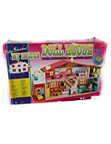 ToyTree 50 pc Fully Furnished My Deluxe Doll House with full Accessioies