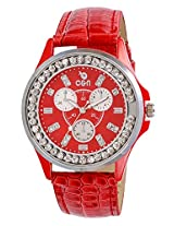 Chappin & Nellson Analog Womens Watch - CN-L-01-Red