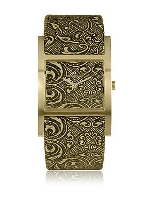 Jacques Lemans Quarzuhr Venice Oversize 1-1480 schwarz/goldfarben 47  mm