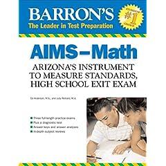 【クリックで詳細表示】Barron's Aims-math: Arizona's Instrument to Measure Standards, Hs Exit Exam (Barron's Aims High School Exit Exams Math: Arizona's Instrument to) [ペーパーバック]