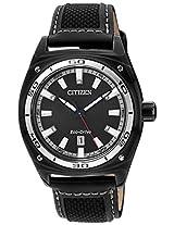 Citizen Eco-Drive Analog Black Dial Men's Watch - AW1050-01E