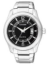 Citizen Eco-Drive Analog Black Dial Men's Watch AW1030-50E