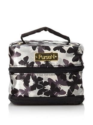 PurseN Tiara Jewelry Case (Butterfly/Black)