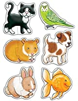 Pets 2 Piece Puzzles By Orchard Toys