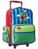 Stephen Joseph Airplane Luggage, Multi Color