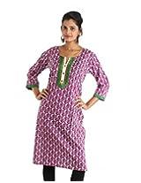 Indiankala4u Cotton Straight Kurta in ethnic prints