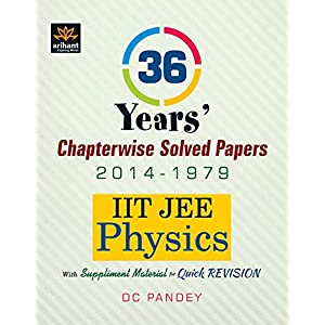 36 Years' Chapterwise Solved Papers (2014-1979) IIT JEE Physics (Old Edition)